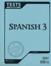 BJU Spanish 3, Tests Answer Key