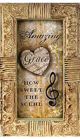 Amazing Grace How Sweet the Sound Plaque