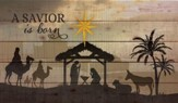 A Savior Is Born, Nativity Wall Art