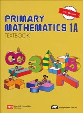 Singapore Math: Primary Math Textbook 1A US Edition