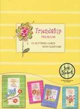Friendship Garden Thinking of You Cards, Box of 12