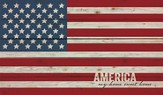 America, My Home Sweet Home, Flag Wall Art