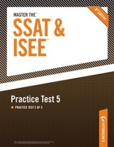 Master the SSAT/ISEE: Practice Test 5: Practice Test 5 of 5 - eBook
