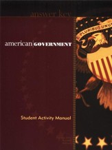 BJU American Government Grade 12, Activity Manual Teacher's Edition