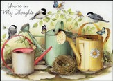 Chickadees in the Garden/Thinking of You Cards (no  Scripture)/12