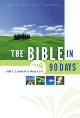 The NIV Bible in 90 Days / Special edition - eBook