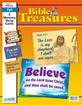 Bible Treasures Primary (Grades 1-2) Memory Verse  Visuals