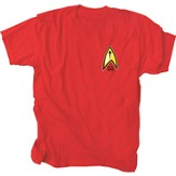 Boldly Go Shirt, Red, Large