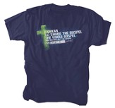I Swear to Share the Whole Gospel Shirt, Navy, Large