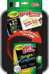 Crayola, Dry-Erase Dual Sided Board Set