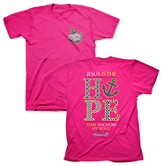 Cherished Hope Shirt, Pink, Large