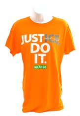 Justice Shirt, Orange, Large