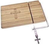 Cross Cheeseboard with Slicer