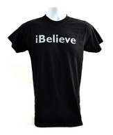 iBelieve, Josh Hamilton Shirt, Black, Medium