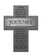 Journey, For I Know the Plans Cross