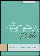 NIV Renew Bible: Refresh Your Heart, Soul and Mind / Special edition - eBook
