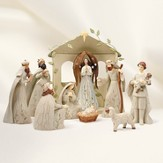 Nativity Set, Ivy Design, 10 Pieces
