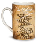 In Christ, I Am Mug