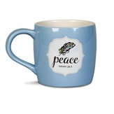 Filled With Peace Mug