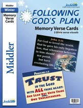 Following God's Plan Middler (Grades 3-4) Memory Verse Visuals
