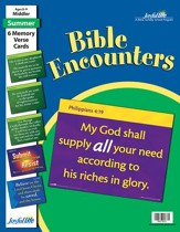 Bible Encounters Middler (Grades 3-4) Memory Verse Visuals