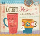 2016 Faithful Message Mini Wall Calendar