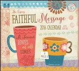 2016 Faithful Message Wall Calendar