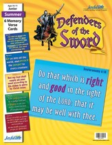 Defenders of the Sword Junior (Grades 5-6) Memory Verse Visuals