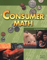 BJU Consumer Math, Student Text (Second Edition)