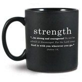 Strength Basic Faith Ceramic Mug