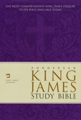 KJV Zondervan Study Bible, Hardcover, Slightly Imperfect