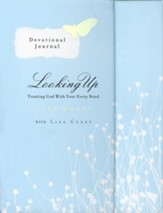 Looking Up: Trusting God with Your Every Need--Devotional Journal (slightly imperfect)