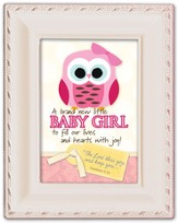 Baby Girl, Magnetic Framed