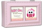 A Brand New Baby Girl Music Box, Pink