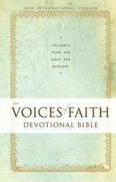 NIV Voices of Faith Devotional Bible: Insights from the Past and Present / Special edition - eBook