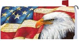 American Eagle Flag, Mailbox Cover