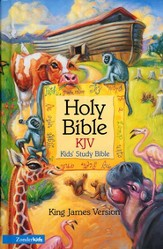 KJV Kid's Study Bible, Hardcover  - Slightly Imperfect