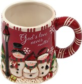 God's Love Never Melts Mug