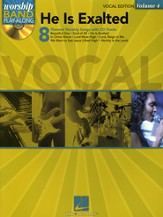 He Is Exalted, Vocal Edition--Book and CD