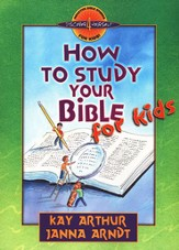 How to Study Your Bible for Kids - eBook
