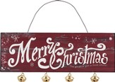 Merry Christmas, The Greatest Gift Is From Above Ornament with Jingle Bell