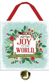 Joy to the World Ornament with Bell