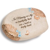 In Memory Of A Life So Beautifully Lived Memorial Stone