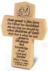How Great is the Love Cross with Dove