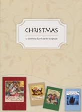 Traditional Christmas, Christmas Cards, Box of 12