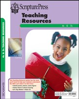 Scripture Press 4s & 5s Teaching Resources, Winter 2014-15