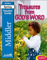 Treasures from God's Word Middler (Grades 3-4) Teacher Guide