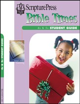 Scripture Press 4s & 5s Bible Times Student Guide, Winter 2014-15