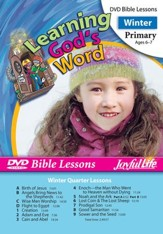Learning God's Word Primary (Grades 1-2) Bible Lesson DVD