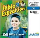 Bible Expedition Junior (Grades 5-6) Bible Lesson DVD